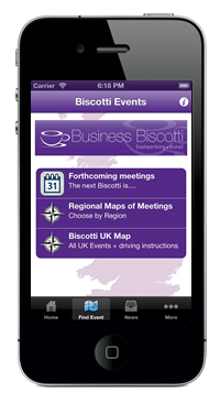 Business Biscotti iPhone App